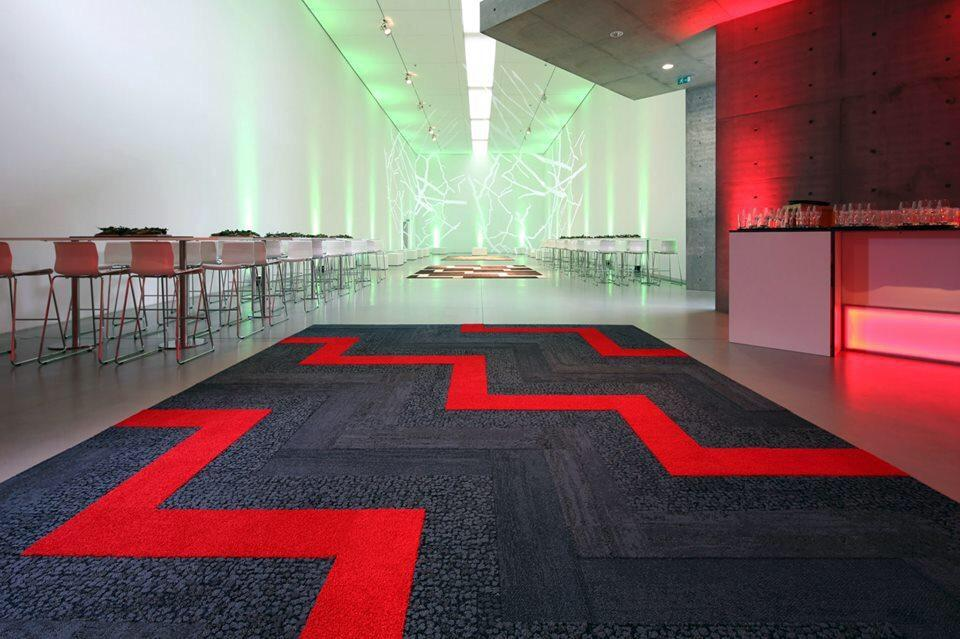 Interface Carpet For Commercial And Domestic Use